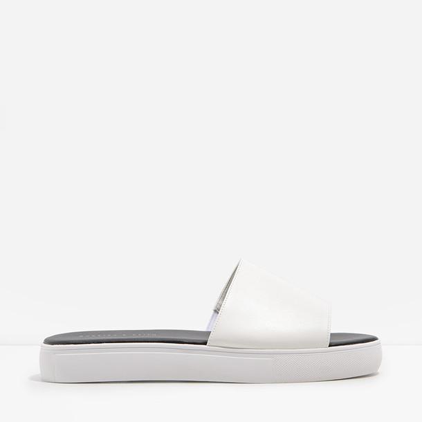 basic white shoes