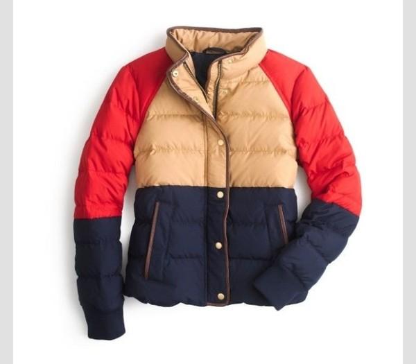 coat colorblock
