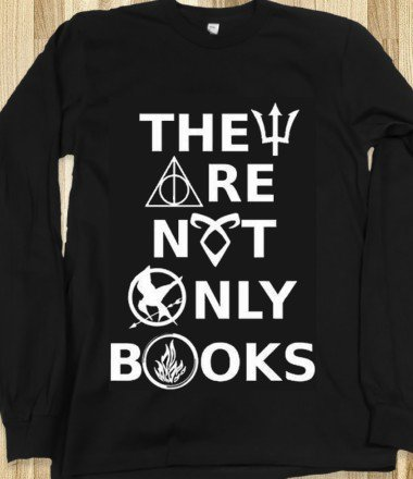 They Are Not Only Books (Harry Potter, Hunger Games, Percy Jackson, Divergent, Mortal Instruments, Fandom) on Wanelo