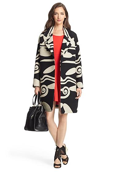 Daphnis Wool Cocoon Coat