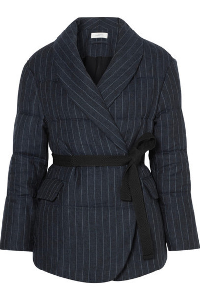 Isabel Marant etoile jacket quilted navy