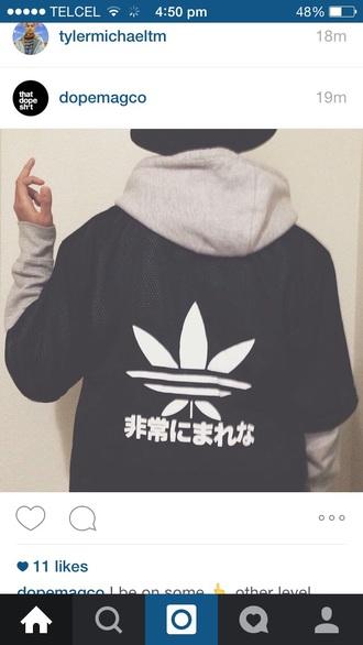 jacket adidas japan menswear mens sweater weed