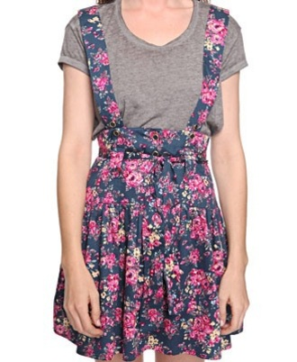 dress floral dress overalls dress overalls austin & ally ally ally&austin forever 21