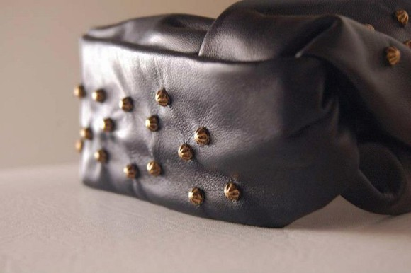 original hat leather turband studs authentic
