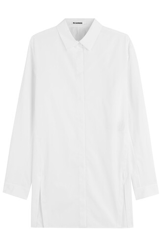 shirt cotton white top