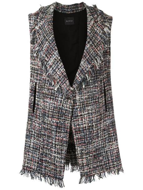 Olympiah - tweed vest - women - Polyester/Acrylic - G, Polyester/Acrylic