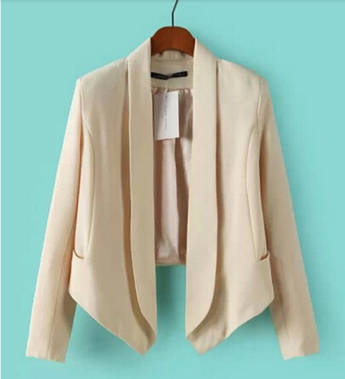The black or nude blazer