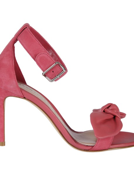 Alexander Mcqueen bow sandals shoes