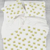 home accessory,yeah bunny,queen,crown,bedding,set,queen bed,cotton,princess