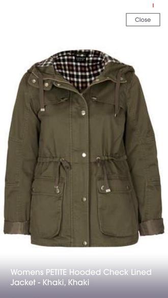 jacket olive green khaki