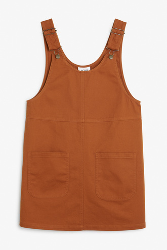 dress rust fall colors back to school overalls