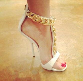 shoes giuseppe zanotti white gold white trainers