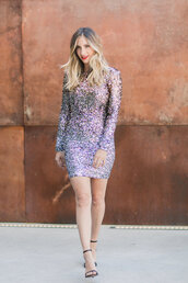 cupcakes and cashmere,blogger,dress,shoes,make-up,glitter dress,sparkly dress,christmas,new year's eve,party dress,sandals