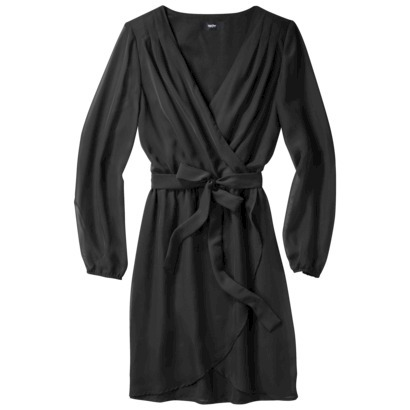 Mossimo® Women's Long Sleeve Wrap Dress - As... : Target