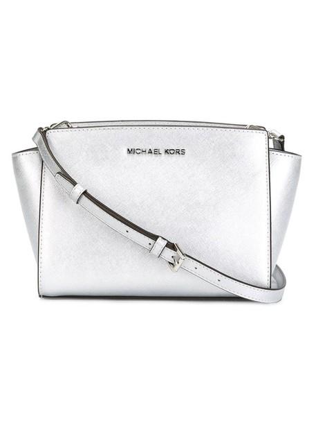 MICHAEL Michael Kors mini women bag crossbody bag grey metallic