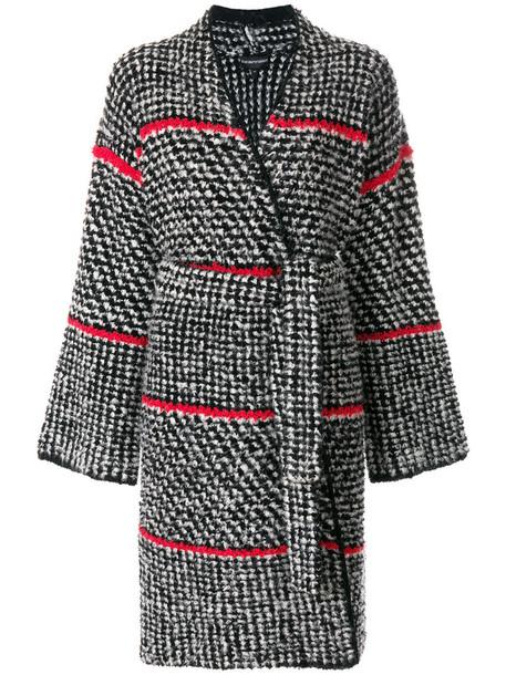 Emporio Armani coat women spandex black