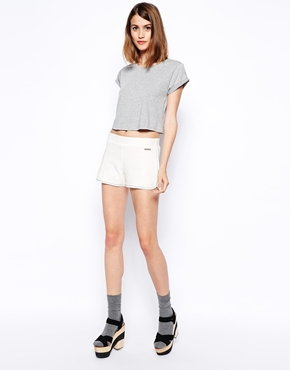 See by Chloe | See by Chloe Pique Shorts at ASOS