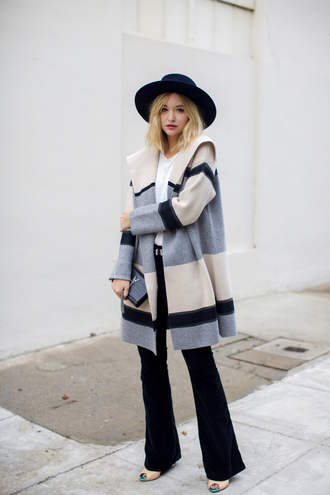 late afternoon blogger coat shirt jeans shoes hat belt bag