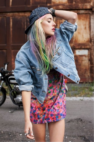 jacket dress denim jacket