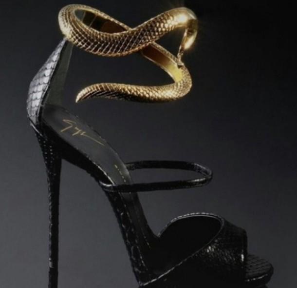 a8d11b7601 snake snake skin heels high heels cool alternative goth metro instagram sexy  shoes high heels black