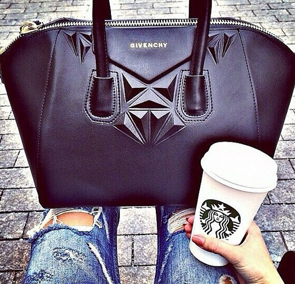 bag givenchy bag black leather