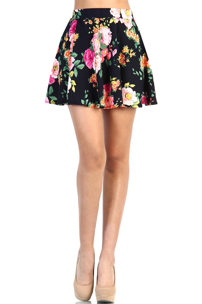 For those of you that are just exploring this trend, skater skirts are a high-waisted, yet short — usually well above the knees — skirt and can be flared or pleated. The vast inventory on eBay includes an assortment of colors, including primary colors, pastel colors, and neon colors for those of you that really want to make an entrance.