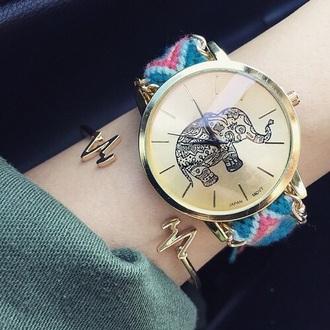 jewels watch elephant heart bracelets