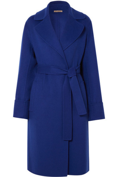 Bottega Veneta coat blue cobalt blue
