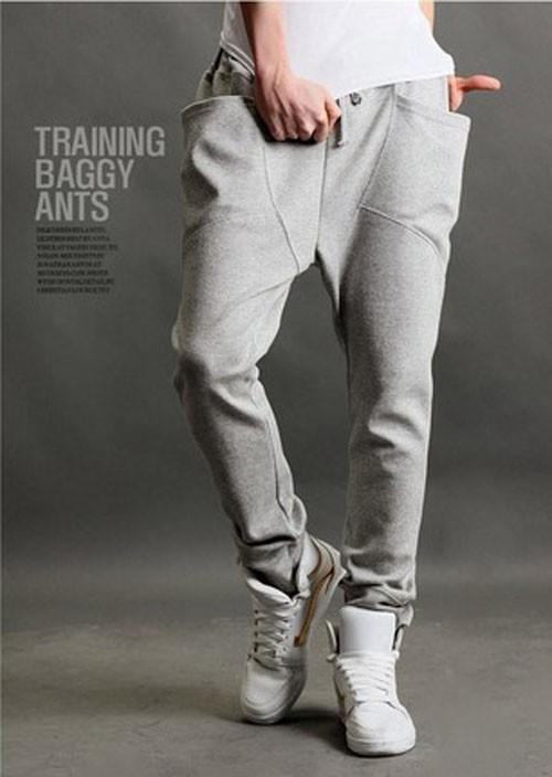 Hot Men's Casual Harem Baggy Hip Hop Taper Dance sweat Pants Trousers Feet Pants | eBay
