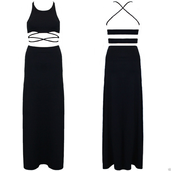 Brooke crop and maxi skirt co