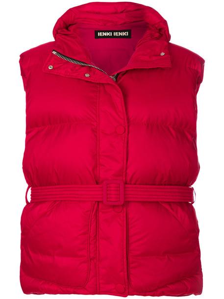 Ienki Ienki jacket puffer jacket women spandex cotton red