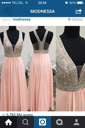 dress,baby pink,modnessa,prom,prom dress,long prom dress