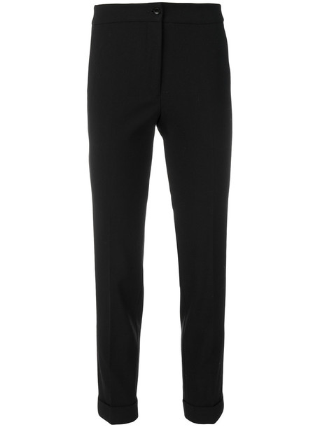 ETRO cropped women spandex fit wool pants