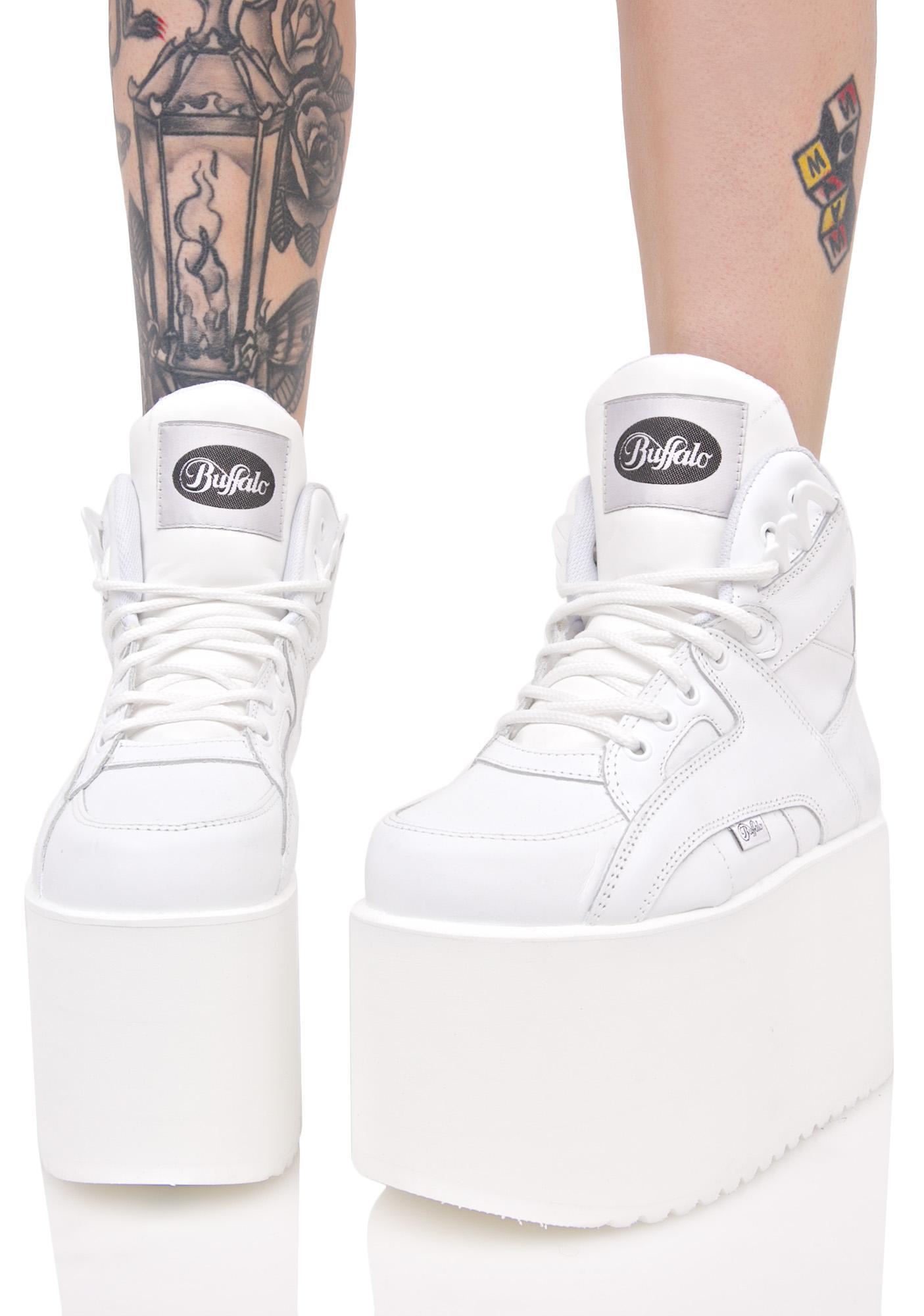 Soft Blanco Platform Sneakers