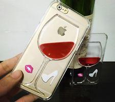 Case / Nueva Funda 3D Copa de Vino con Liquido! Idea Original! iPhone 6