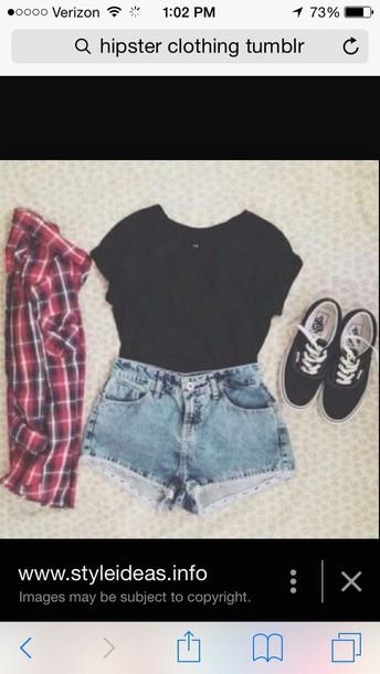 shirt shorts shoes