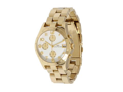 Marc by Marc Jacobs MBM3039 - Henry Chronograph Gold - Zappos Couture