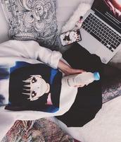 sweater,jumper,jacket,skirt,socks,shoes,tank top,pink,black,white,pastel,nike,adidas,summer,spring,anime,harajuku,tumblr,kawaii