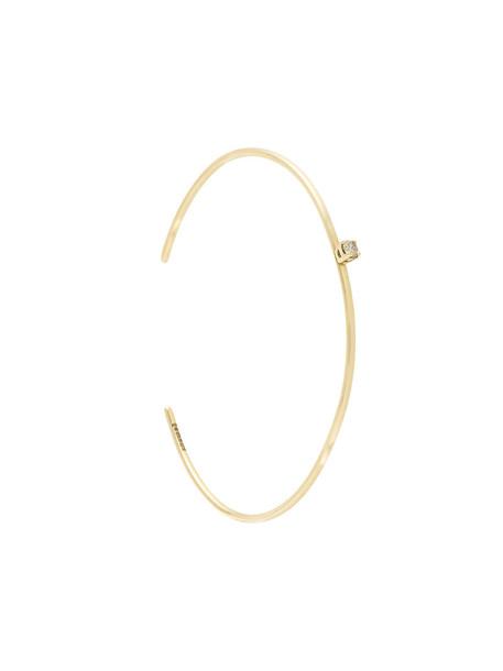 Allison Bryan cuff women gold grey metallic jewels
