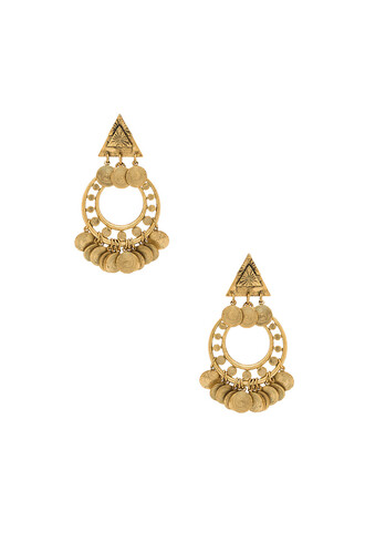 earrings metallic gold jewels