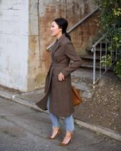 shoes,pumps,suede pumps,high heel pumps,jeans,cropped jeans,coat,long coat,wool coat,handbag