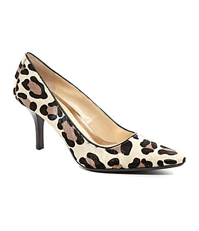 Calvin Klein Dolly Leopard Pumps | Dillards.com