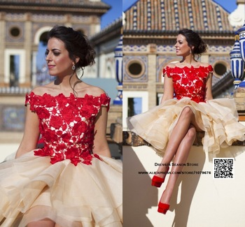 Robe rouge aliexpress
