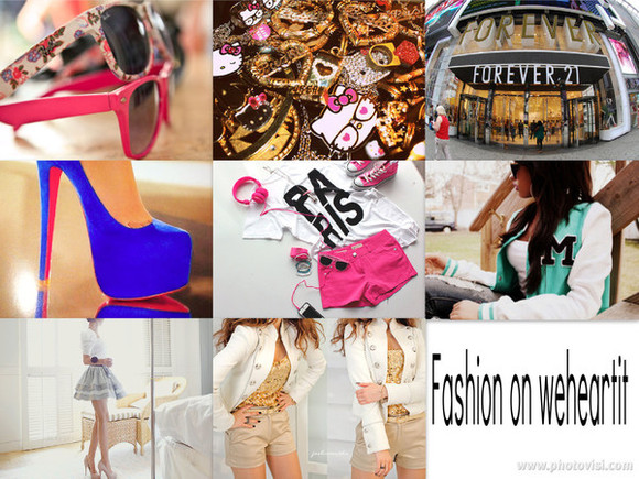 pink pink sunglasses jacket sunglasses clothes high heels paris hello kitty