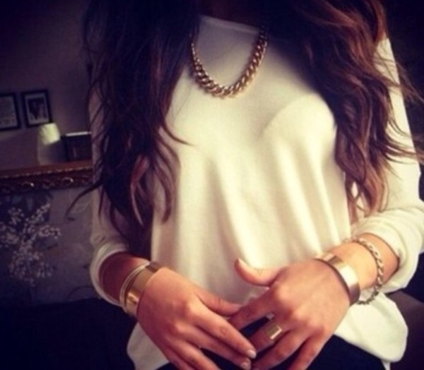 shirt ring gold blouse jewels