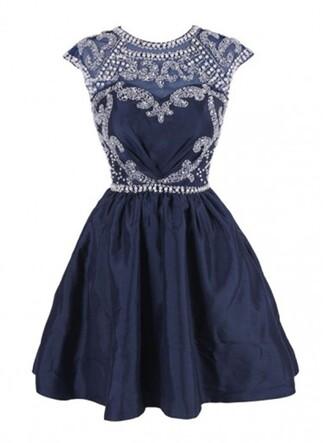 dress open back dresses black short homecoming dress cap sleeves dress
