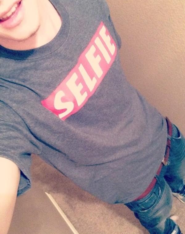 t-shirt selfie menswear mens t-shirt