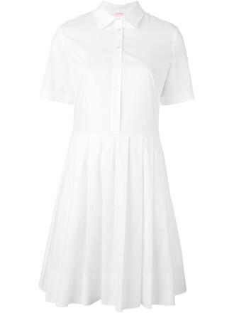 dress shirt dress women spandex white cotton