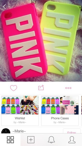 neon neon yellow neon pink bright phone case pink yellow pink pink brand