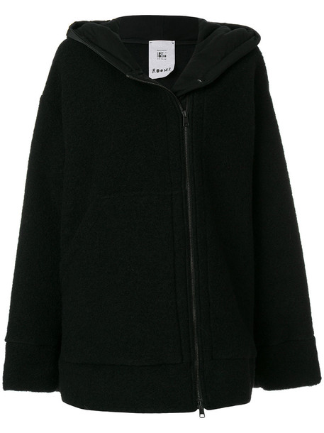 Lost & Found Rooms - hooded sweatshirt - women - Cotton/Polyester/Wool - M, Black, Cotton/Polyester/Wool